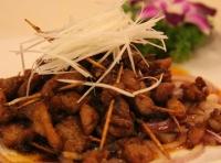 陈皮串香肉